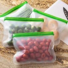 Reusable Zip-Lock Bags S/4 2713