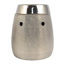 Hallmark® Textured Silver Table Top Fragrance Warmer 9609