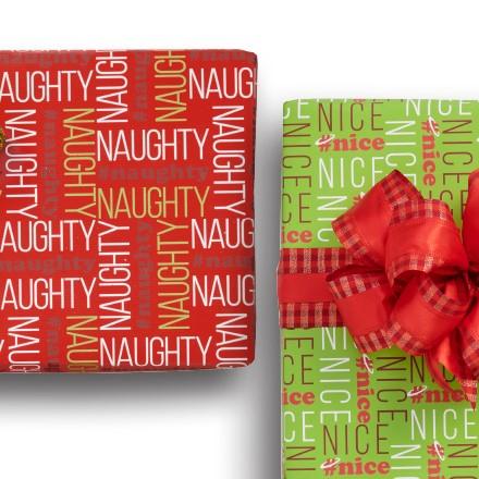 Naughty & Nice Reversible Wrap 1634