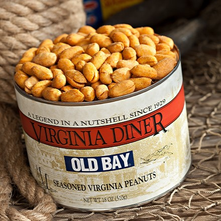 Old Bay Seasoned Peanuts 5817