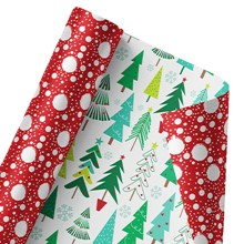 Festive Forest Reversible Wrap 1370