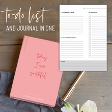Gratitude Journal & To-Do 2178