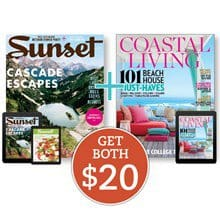 Coastal Living + Sunset (Best Buy) NBSG4
