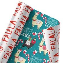 Fa La Llama Reversible Wrap 1423