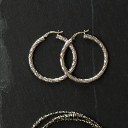 Spiral Hoop Earrings 2737