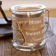 Home Sweet Home Candle Holder 2488