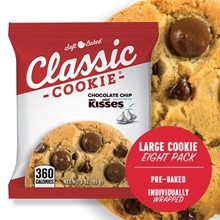 Chocolate Chip Made with Hershey's Mini Kisses 8 PK 4467