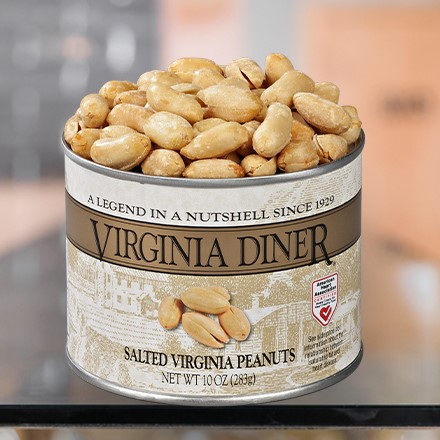 Salted Gourmet Virginia Peanuts 5839