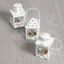 Mini Lantern Tealight Holders / Party Favor - Set of 3 3322