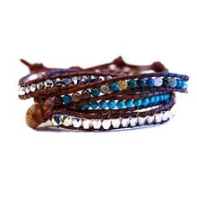 Leather Wrap Bracelet 2600
